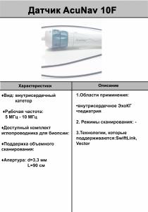 AcuNav-10F