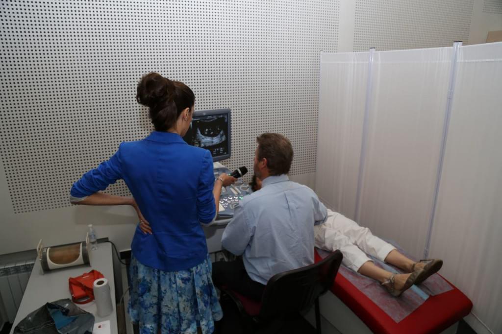 Актуальные вопросы ЭХКГ плода и УЗД в гинекологии с компанией RH, фото