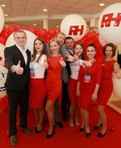 """Компанія RH на Ювілейній 25-ій Міжнародній медичній виставці """"Охорона здоров'я"""" - Новини RH"""