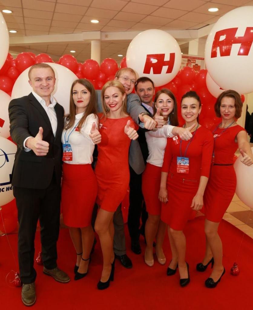 """Компанія RH на Ювілейній 25-ій Міжнародній медичній виставці """"Охорона здоров'я"""", фото"""