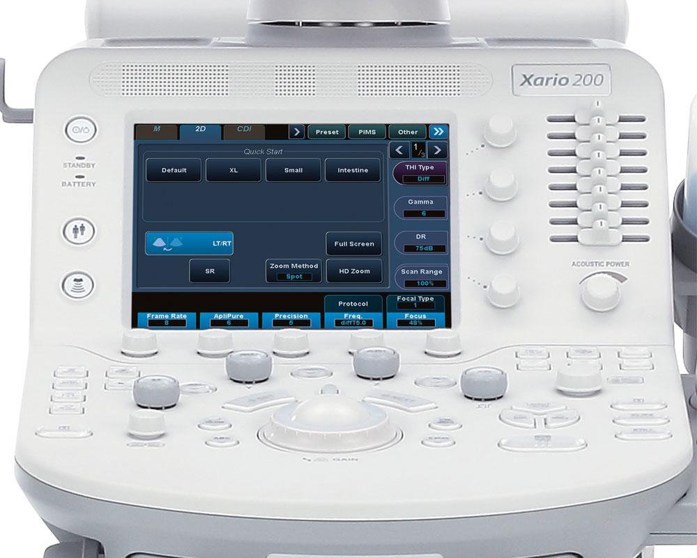 УЗИ аппарат Toshiba Xario 200 - RH