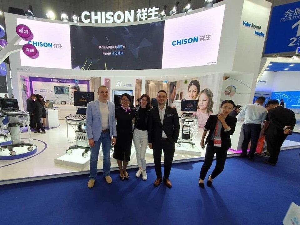 RH на CMEF в Шанхае (Китай) - Команда RH