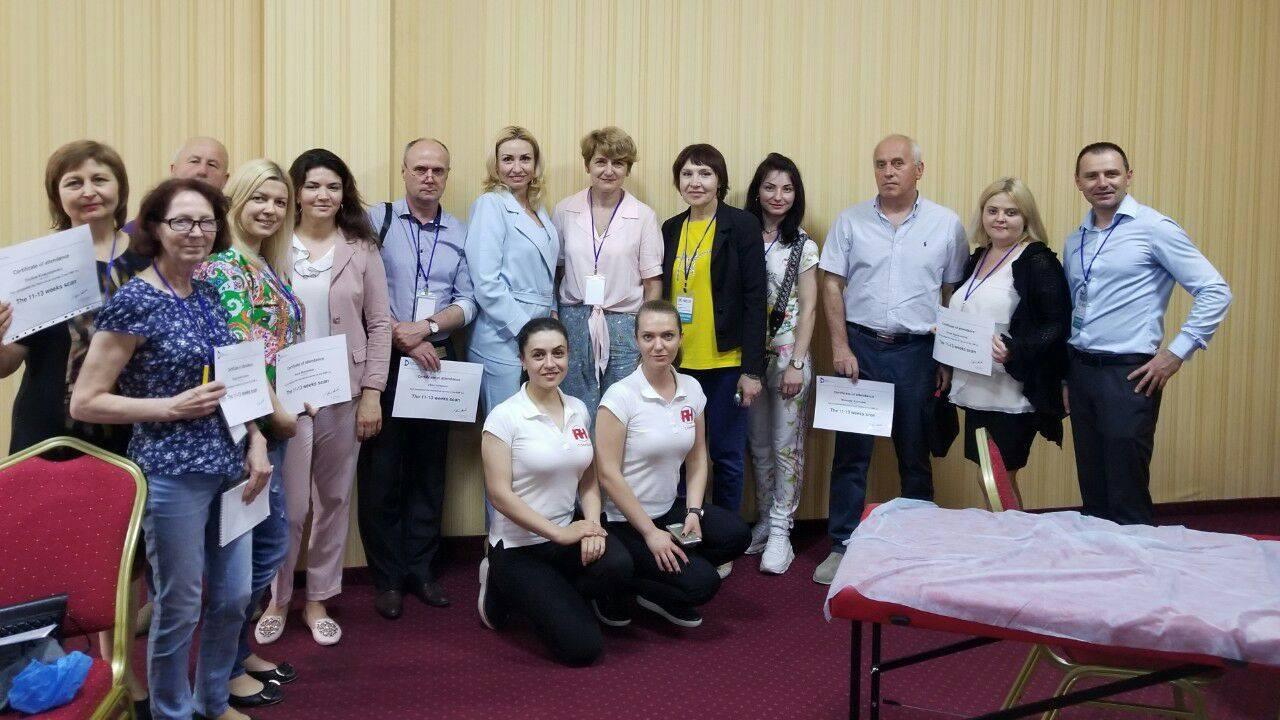 Школа-семінар з допплерометрії маткових артерій у вагітних в першому і другому триместрах в Одесі - Новини RH