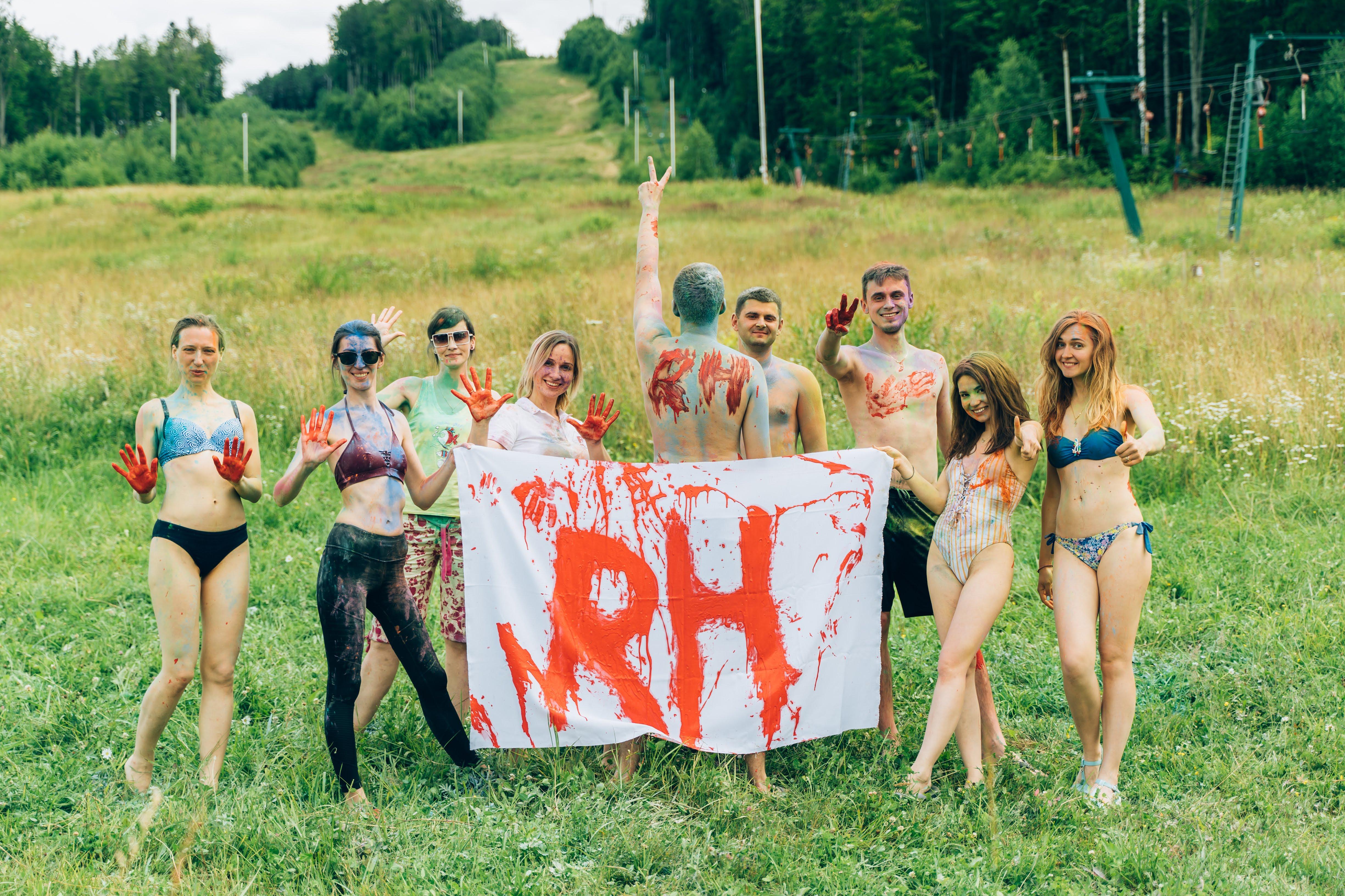 На зв'язку з природою та традиціями: корпоратив команди RH! - Команда RH