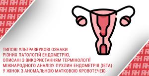 Типові ультразвукові ознаки різних патологій ендометрію, описані з використанням термінології Міжнародного аналізу пухлин ендометрія (IETA) у жінок з аномальною матковою кровотечею - Новини RH