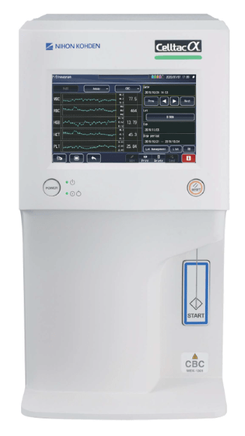 Гематологічний аналізатор з ШОЕ Nichon Kohden CELLTAC A + (MEK-1305) - RH
